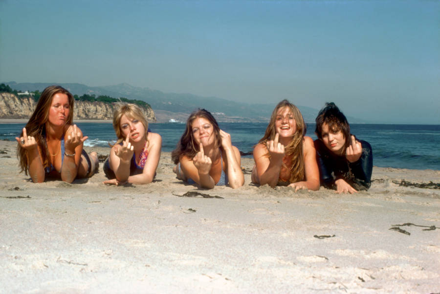 Runaways On The Beach