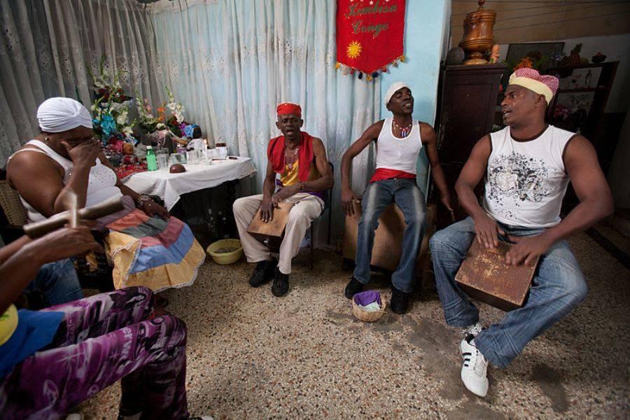 Santeria Ceremony In Cuba
