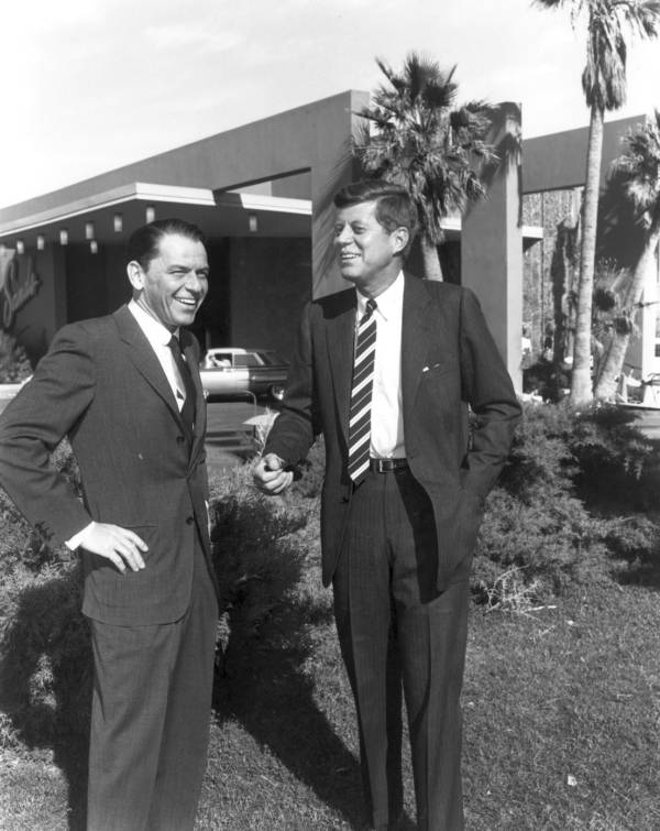Sinatra With Jfk