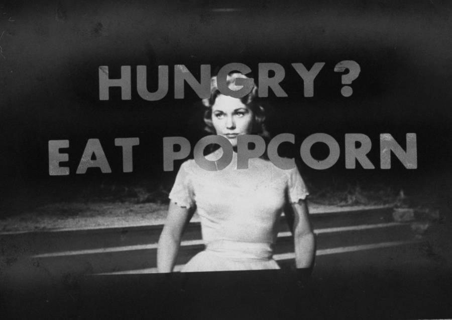 Subliminal Messages Eat Popcorn