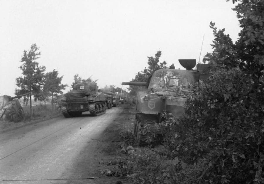 Operation Market Garden Tanks Road