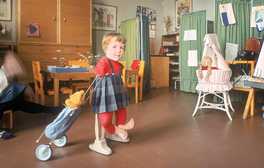 Thalidomide Child Walking