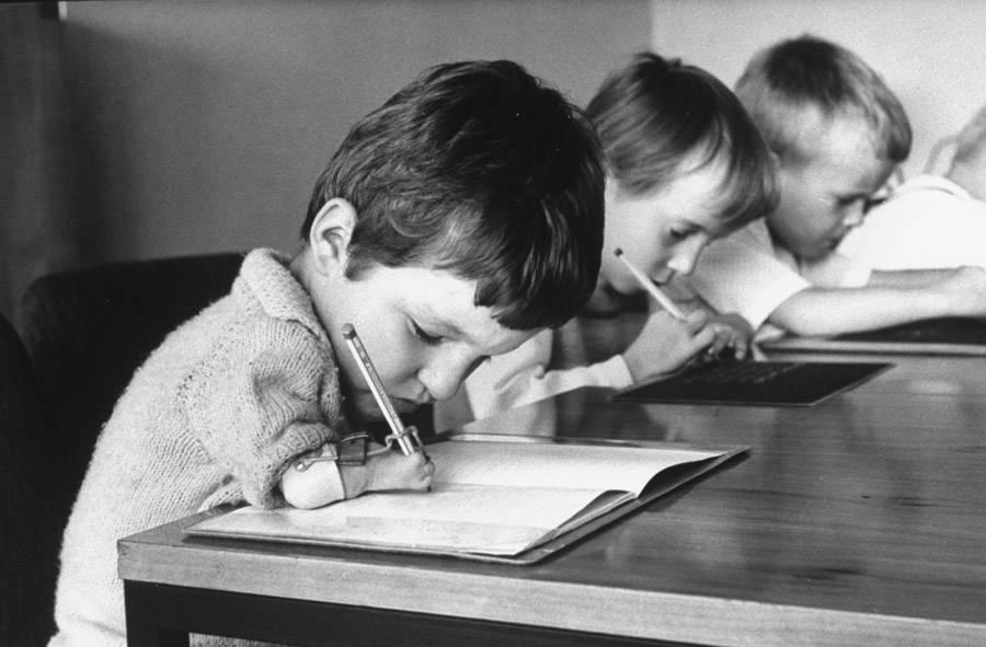 Thalidomide Children At School