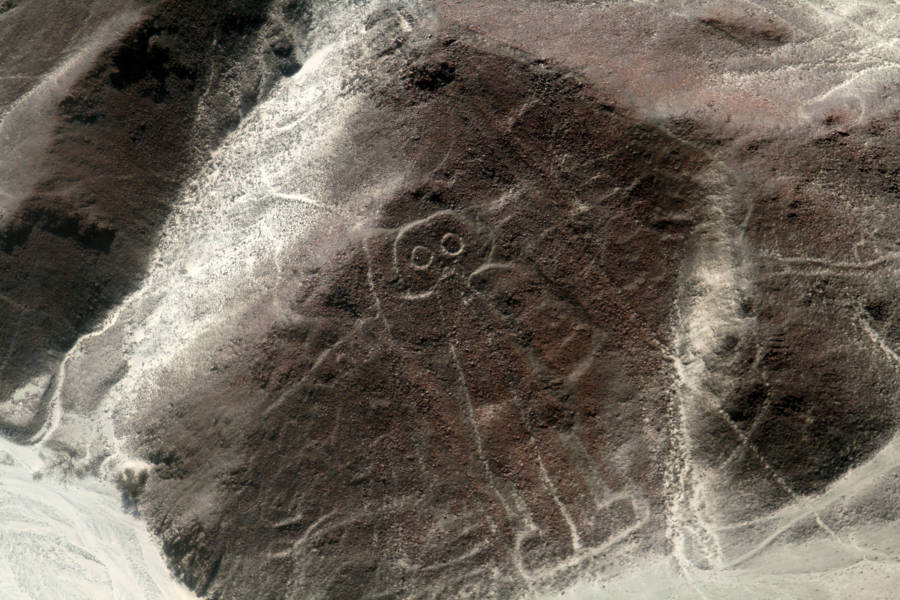 The Astronaut Nazca Line