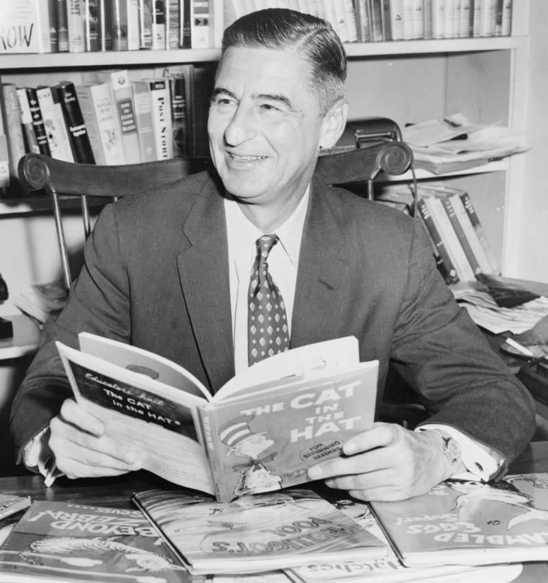Theodor Geisel En 1957