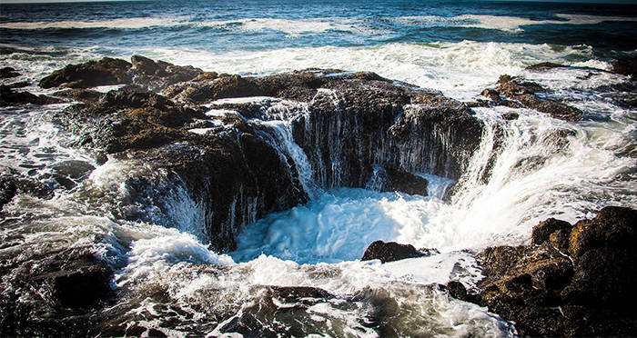 Thor's Well: Oregon's Sea Hole That's