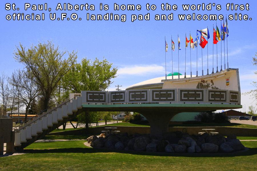 Canada's UFO Landing Site