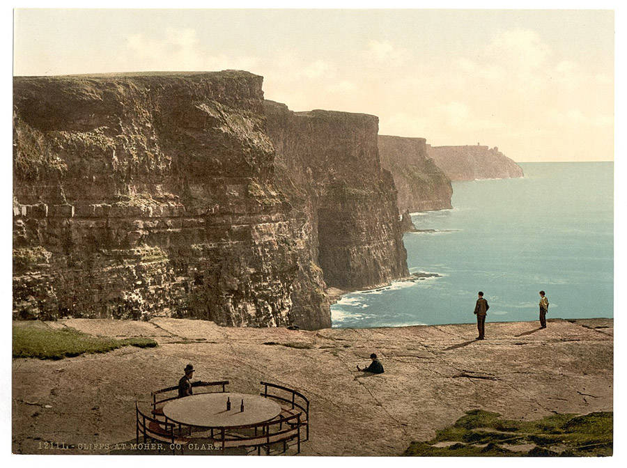 Cliffs Of Moher Vintage Photo