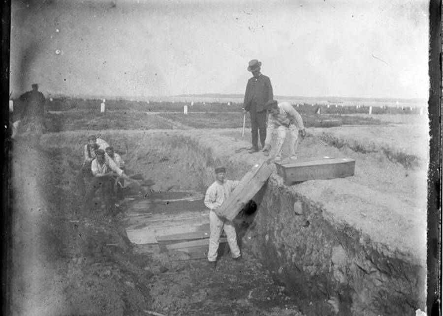 Hart Island Vintage Trench Diggers