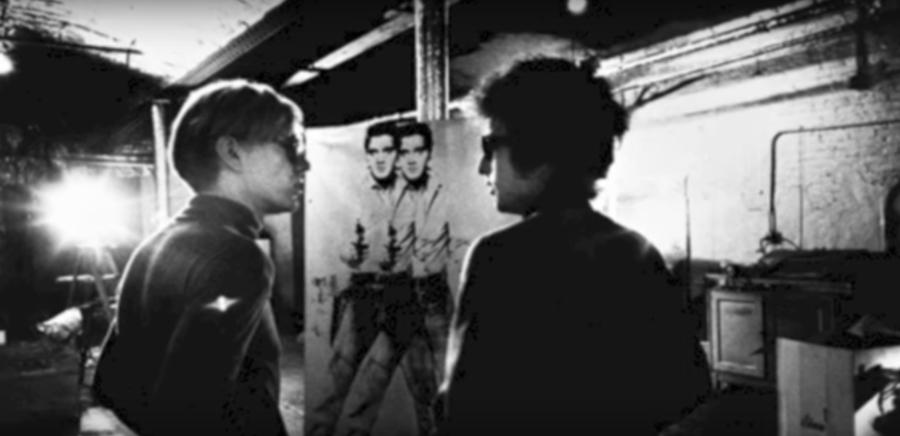 Warhol Dylan