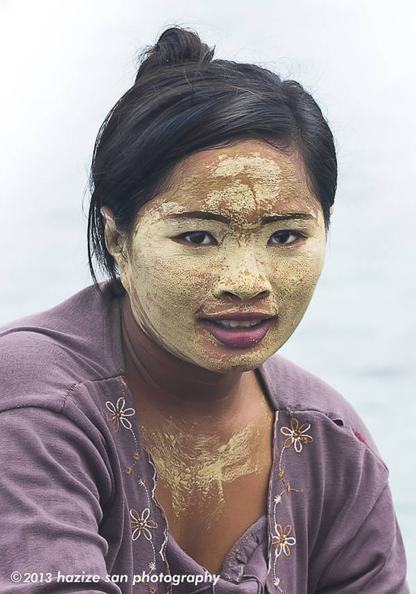 Woman With Sun Protection