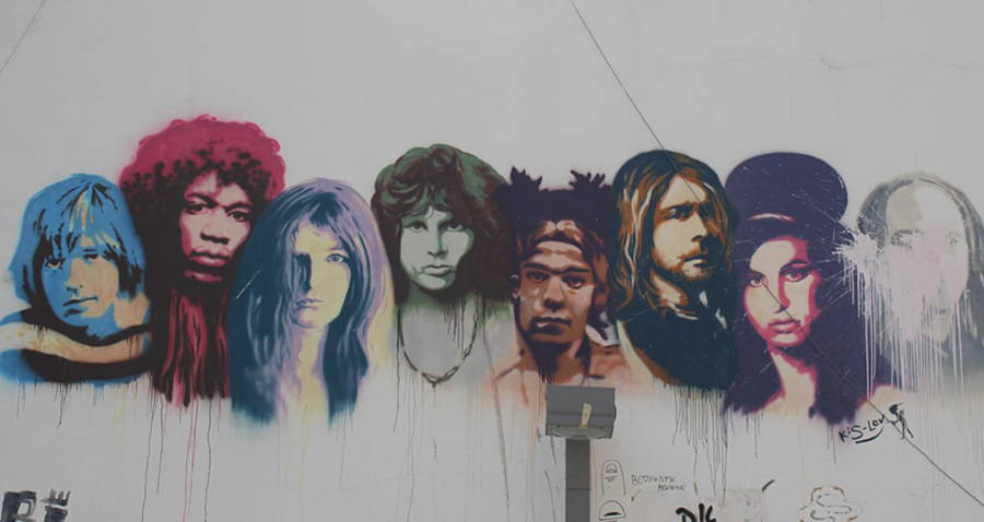 The 27 Club Graffiti Art