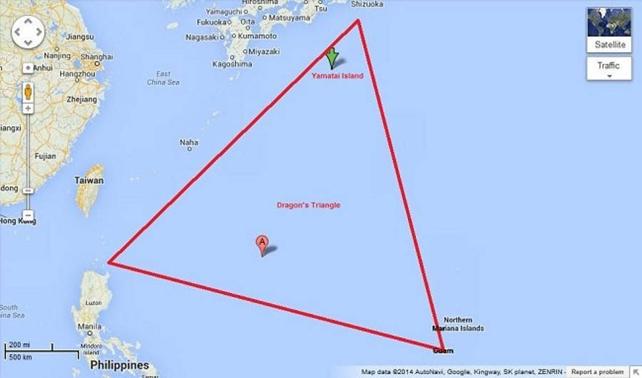 The Age-Old Mystery Of The Dragon\'s Triangle, AKA The ...