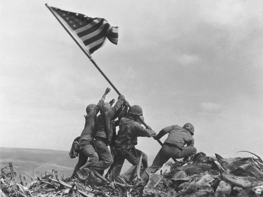 Ira Hayes Raised The Flag At Iwo Jima, But His Story Ended