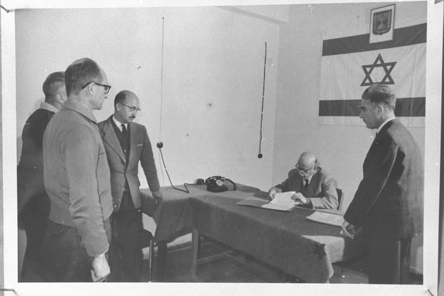 Adolf Eichmann Hearing