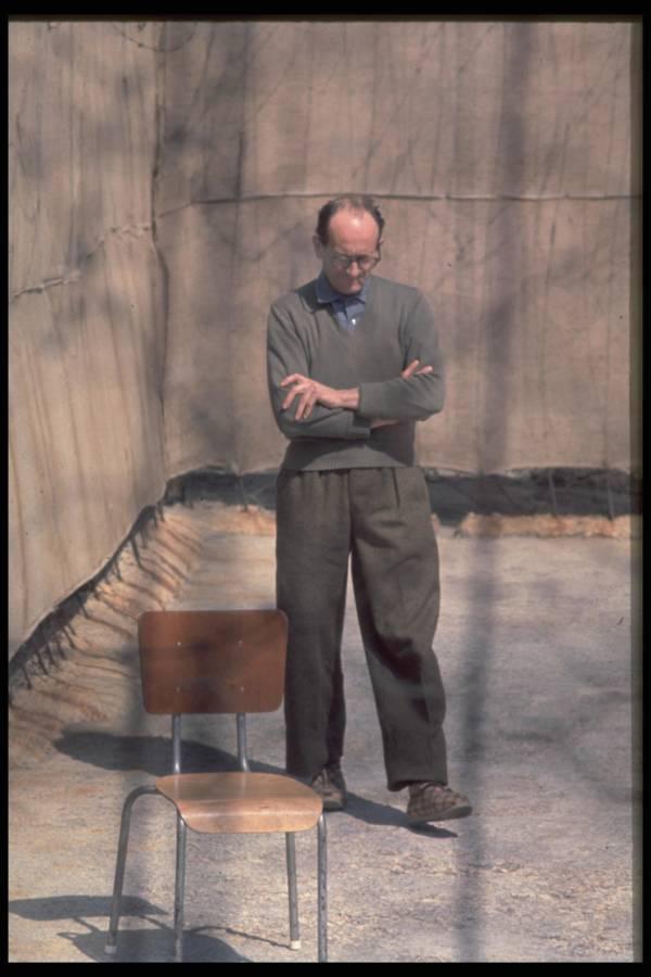 Adolf Eichmann In Prison