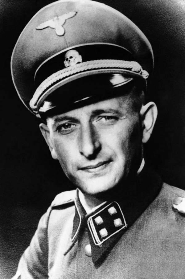 Adolf Eichmann In Uniform