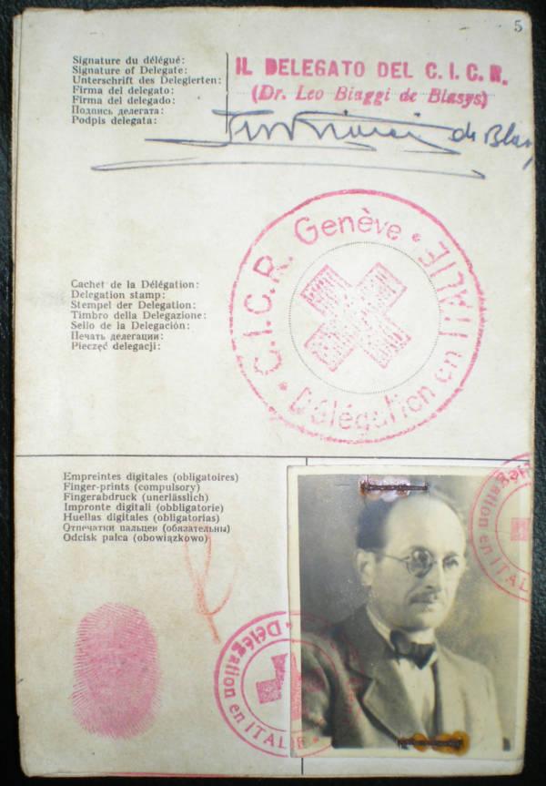 Adolf Eichmann Passport