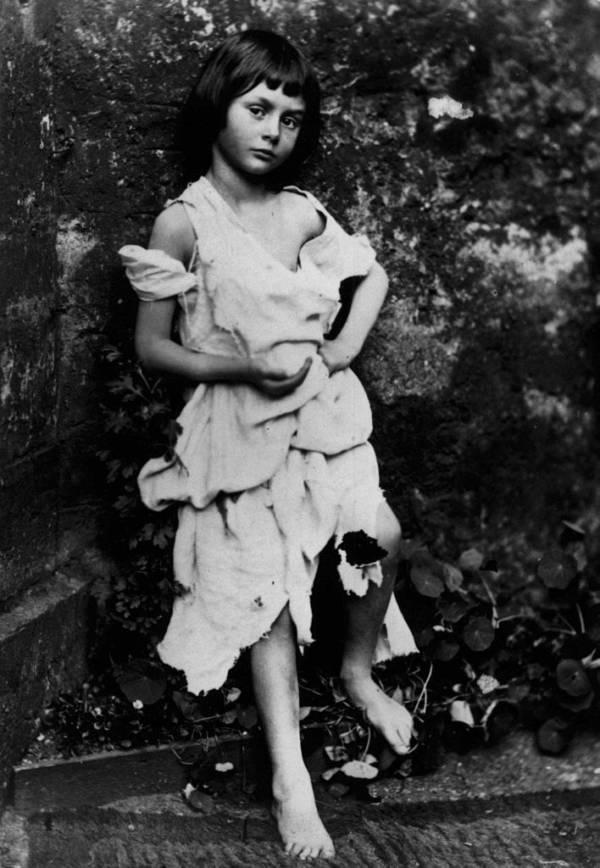 Alice Liddell Dressed As A Beggar Girl