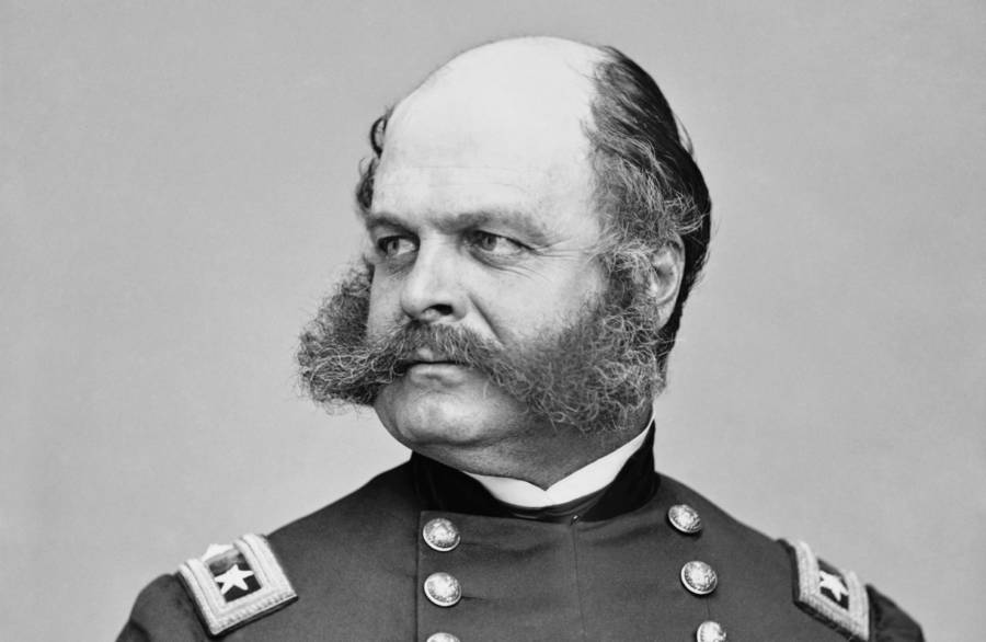 Ambrose Burnside Portrait