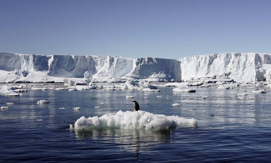 Antarctica Ice Melting