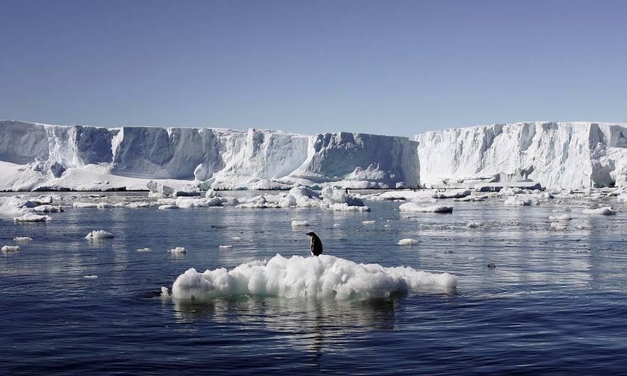 Antarctica Ice Melting