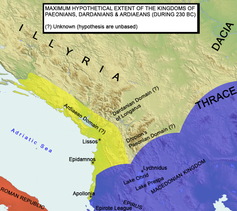 Ardiaean Kingdom Under Teuta