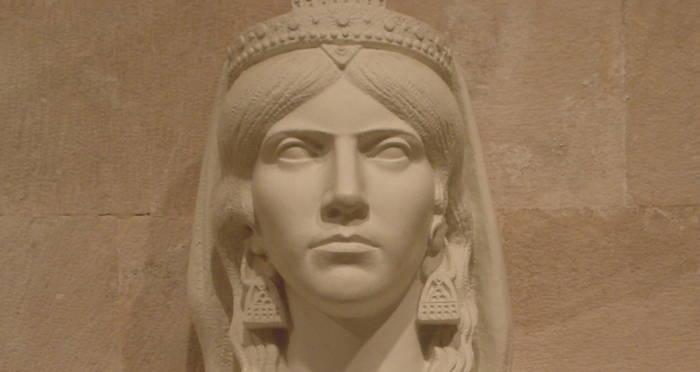 Bust Of Queen Teuta