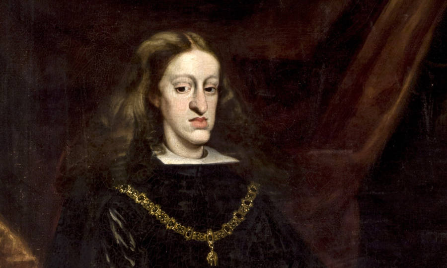Charles II Of Spain Portrait