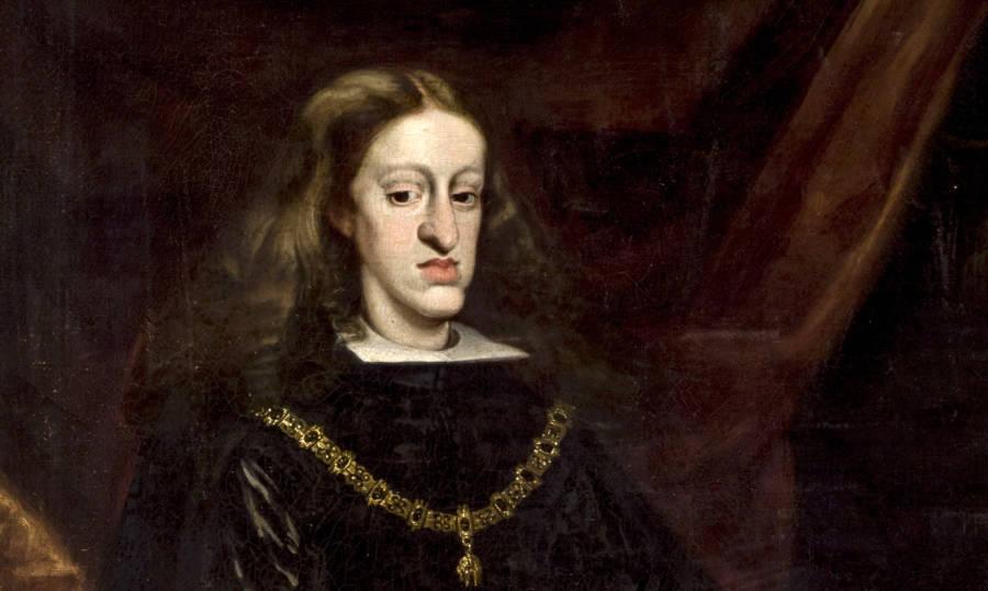 Charles II Of Spain Portrait