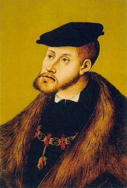 Habsburg Jaw Charles V