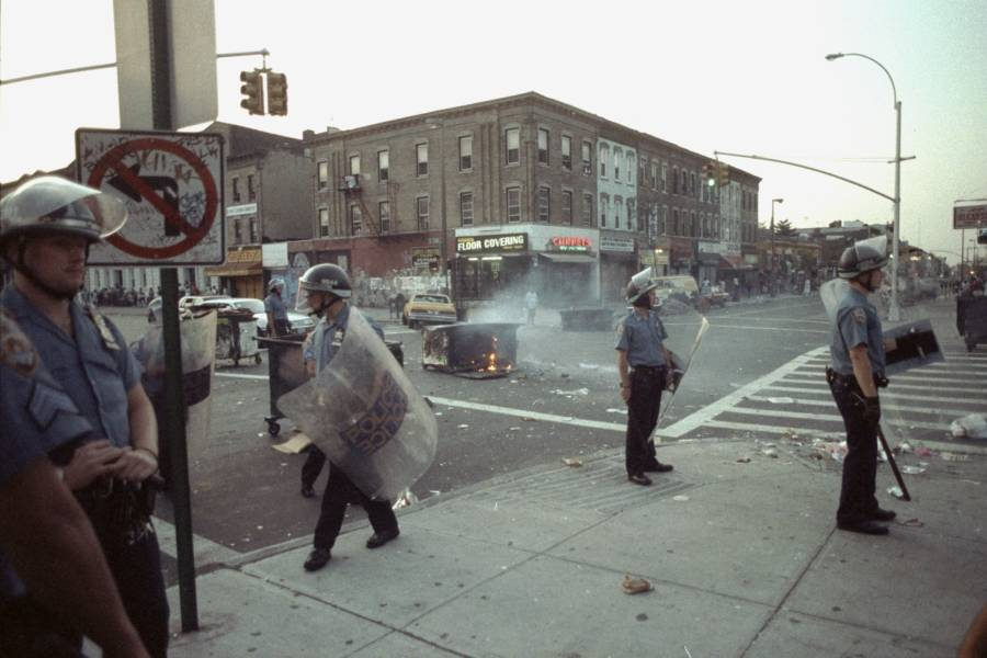 Riots In New York Crown Heights