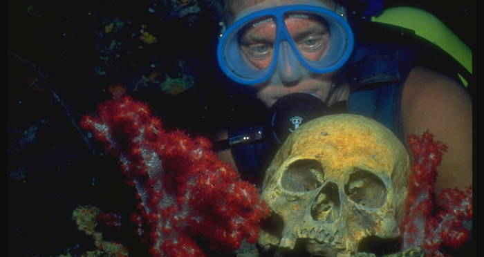 From Sunken Tanks To Human Remains, Truk Lagoon Is WWII's Most Haunting Undersea Graveyard