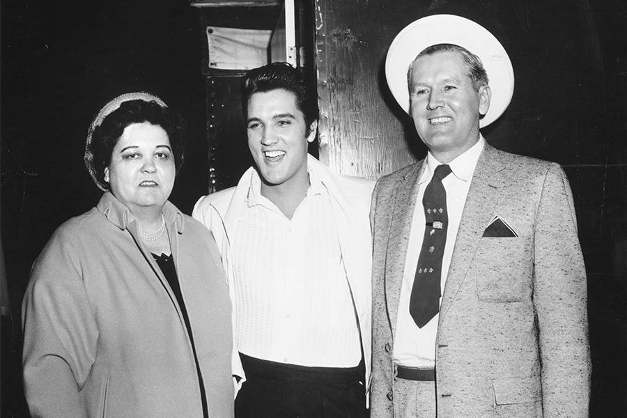 Elvis Presley Parents