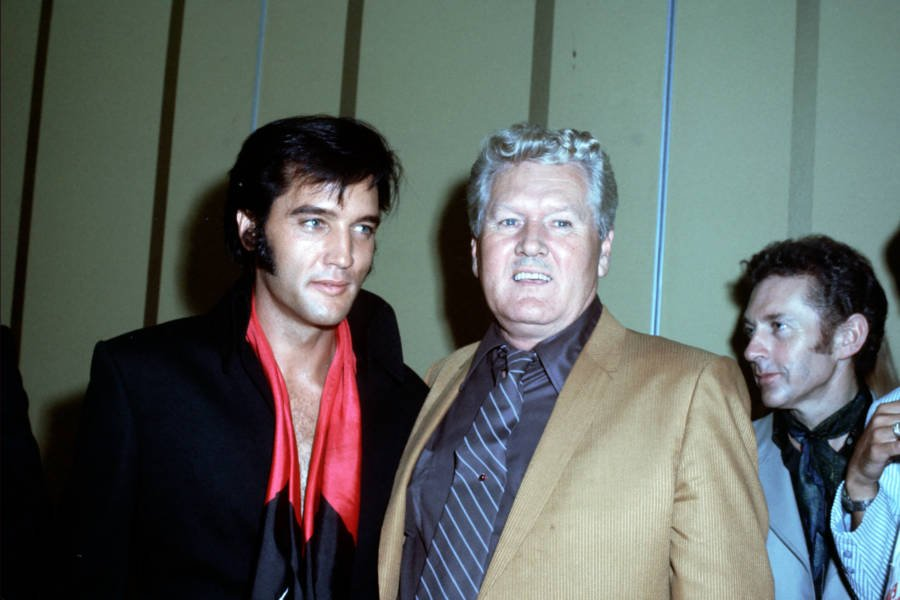 Elvis And Vernon Presley Press Conference