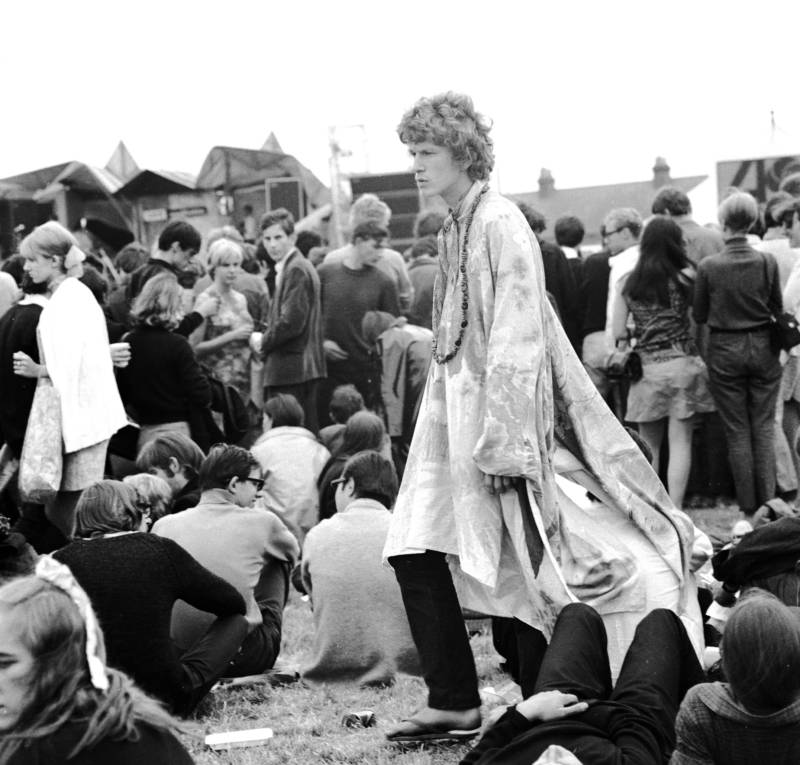 Man At Festival