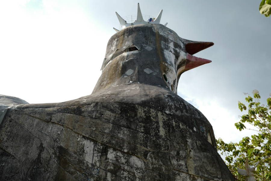 Chicken Church In Indonesia
