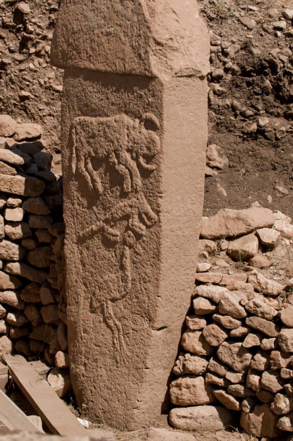 Gobekli Tepe Pillar Closeup