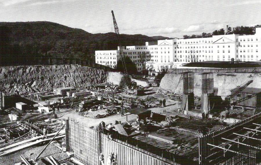 Construction Of The Greenbrier Bunker