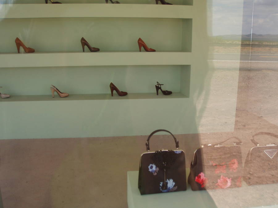 Prada Marfa Display