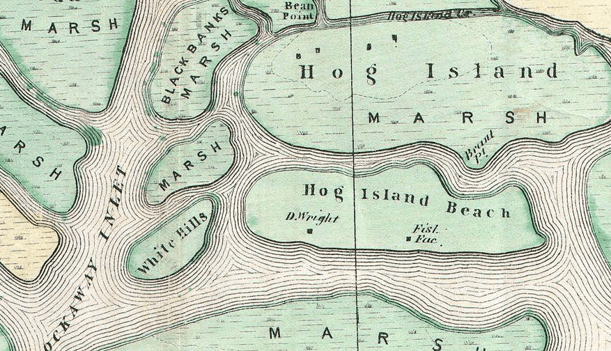 Map Of New York Islands.New York S Hog Island Was A Popular Beach Spot Until It Disappeared