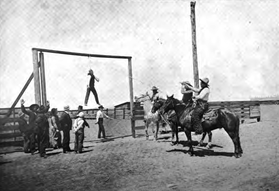 Horse Thief Hanging