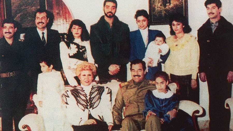 Sajida Talfah Hussein Family