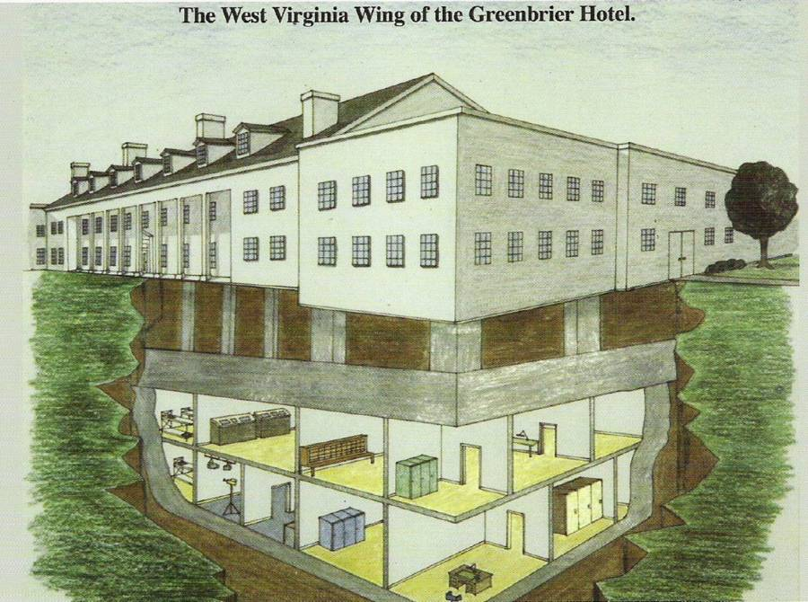 Illustration Of The West Virginia Wing
