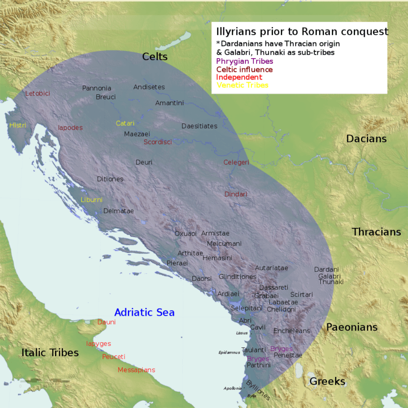 Illyria Before Roman Conquest
