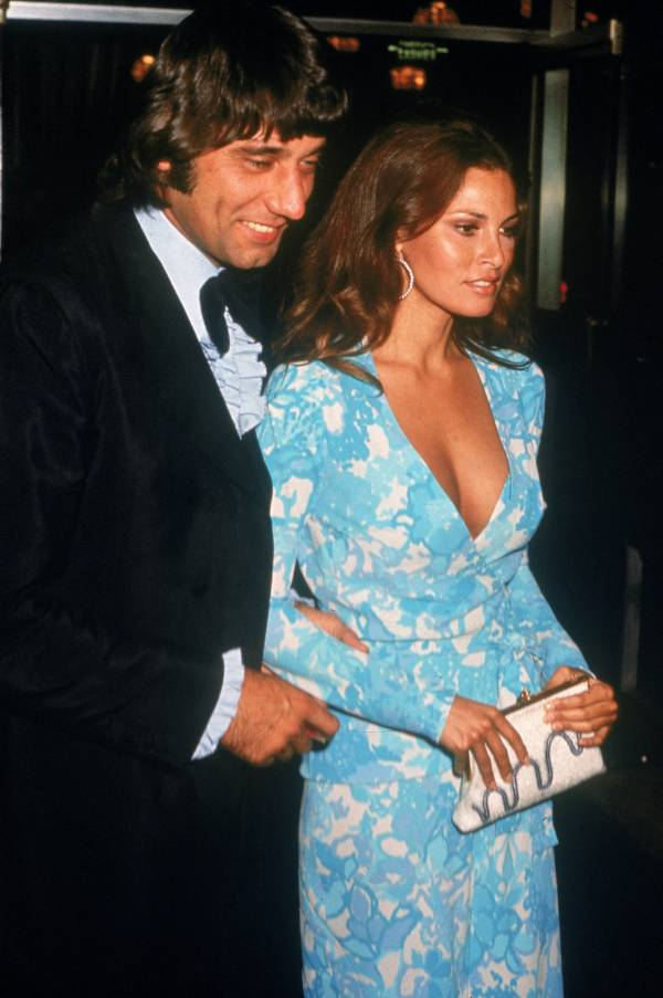 Joe Namath And Raquel Welch