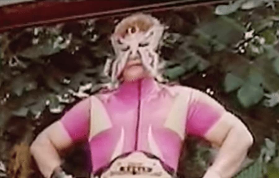 Juana Barraza In Her Wrestling Costume