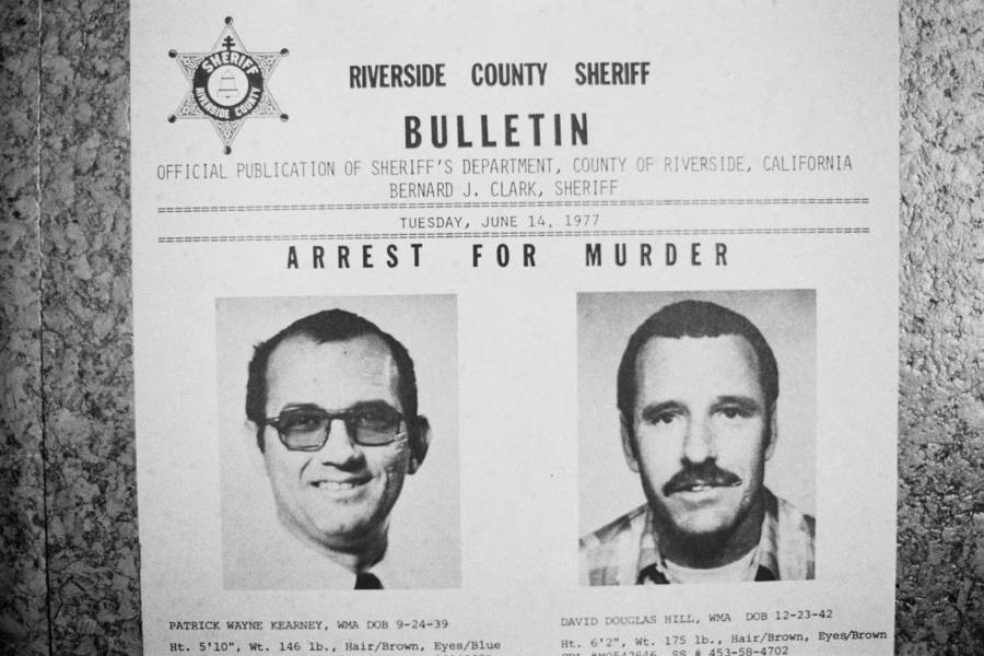 Kearney Hill And David Hill Wanted Poster
