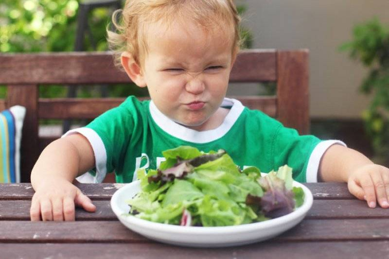 Kid Doesn't Want Salad