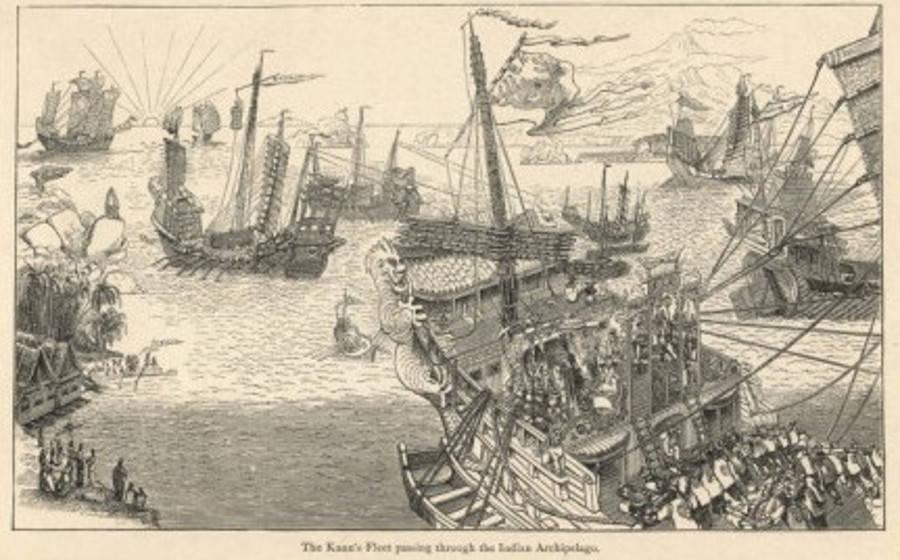 Dragon's Triangle Kublai Khan Fleet